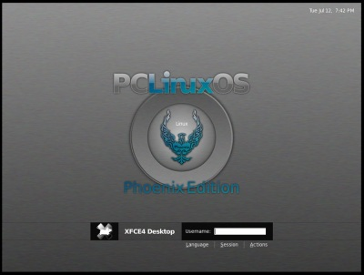Download PCLinuxOS Edisi Phoenix 2012-02